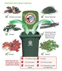green waste bins