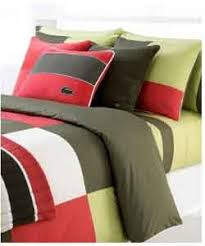 lacoste bed sheets