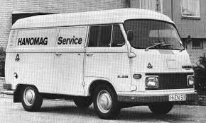 [MOUCRENES] Hanomag Kurier 1965 Service