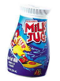 mcdonalds milk