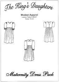 maternity dress pattern