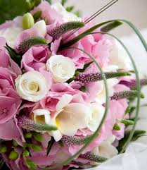 pink wedding bouquet pictures