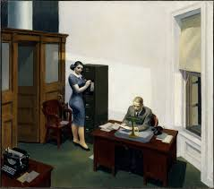 office at night edward hopper