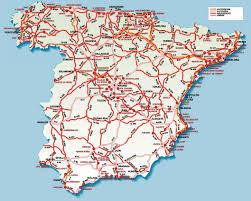 road map spain