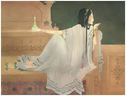 chughtai paintings