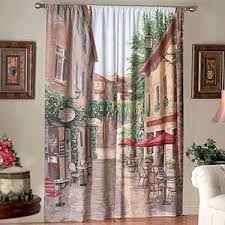 european curtain