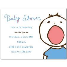 baby show invitation