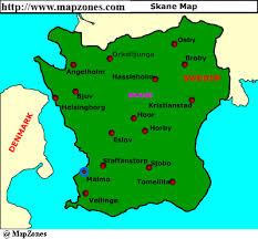 skane map