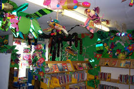 rainforest classroom displays
