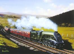 mallard steam train