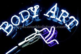 neon tattoo sign
