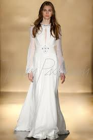hippie wedding gown