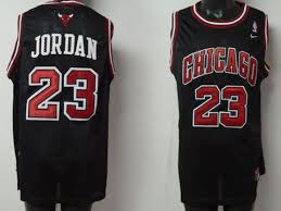 black michael jordan jersey