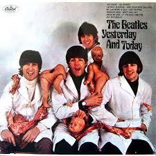 beatles album cover art