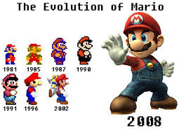 mario game characters
