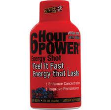 6 hour energy shots