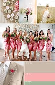 pink wedding flower arrangements