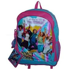 high school musical back pack