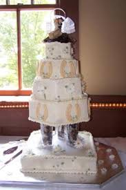 redneck wedding cake