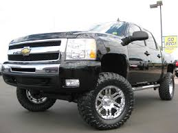 chevy lifted trucks for sale