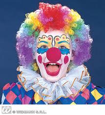 clown dressing up