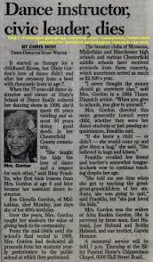 obituary in newspaper