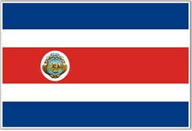 costa rica flags