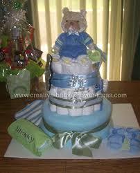 boy diaper cakes