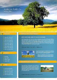 nature website templates