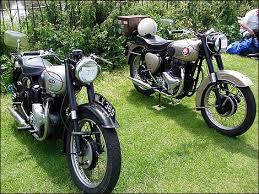old motor bikes