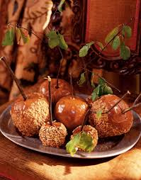 caramel covered apples