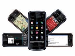 mobile phone nokia 5800