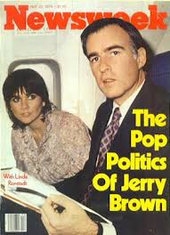 Jerry Brown and Linda Ronstadt