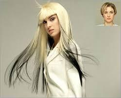 hair extension pics