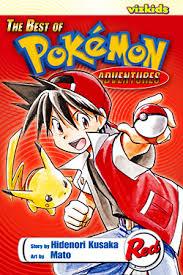 pokemon adventures red