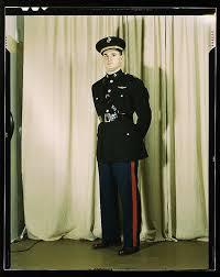 marine dress blues uniform