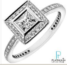 pave princess cut engagement ring