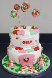 strawberry shortcake cakes