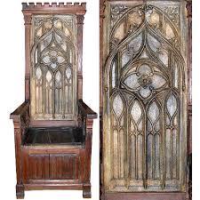 antique gothic furniture