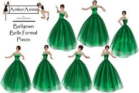 emerald ball gown