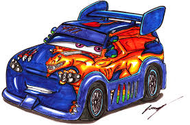 pixar cars dj