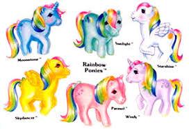 my little pony 1983