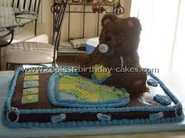 cake decorating ideas for baby shower