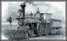 first steam train