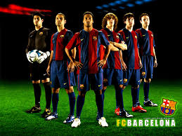 barcelona soccer players