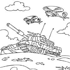 tanks coloring pages