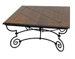 wrought iron cocktail table