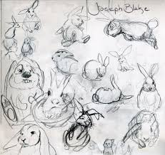 rabbits drawings