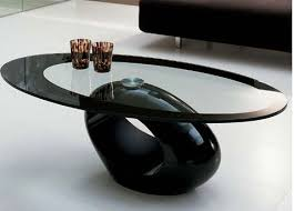 oval glass tables