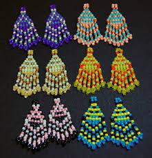 seed bead earring pattern